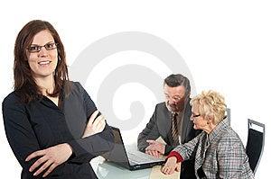 女实业家 免版税库存图片 - 图片: 8351546