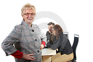 Three Businesspeople Stock Images - Image: 8351554
