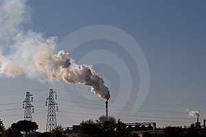 Production And Pollution Royalty Free Stock Photo - Image: 8352815