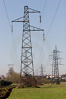 Production And Pollution Royalty Free Stock Images - Image: 8352899