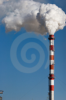 Production And Pollution Stock Photo - Image: 8352900