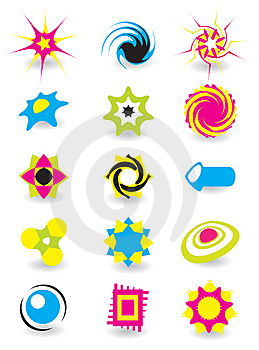 Set Of Elements For Design Royalty Free Stock Images - Image: 8353369