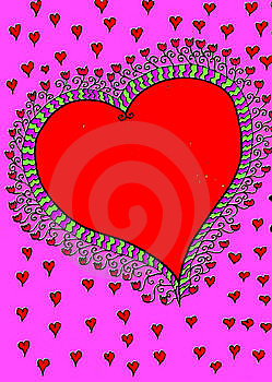Big Red Heart Stock Photography - Image: 8354052