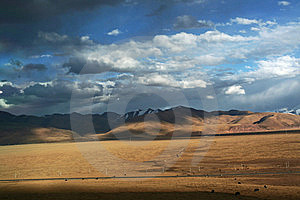 Beautiful Tibetan Plateau Stock Photography - Image: 8354122