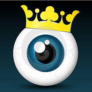 Royal Eyeball Royalty Free Stock Photo - Image: 8354655