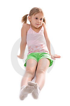 Little Girl Royalty Free Stock Photo - Image: 8354835