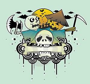 Halloween Nightmare Royalty Free Stock Photo - Image: 8355235
