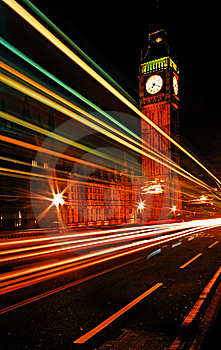 Westminster Bridge And Big Ben Royalty Free Stock Photo - Image: 8355595