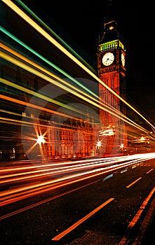 Ben Duży Bridżowy Westminster Zdjęcie Royalty Free - Obraz: 8355595