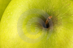 Big Green Apple Stock Photography - Image: 8355602