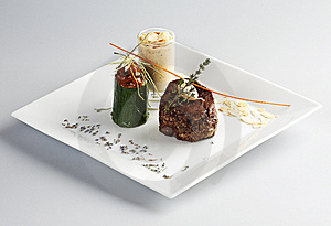 Tasty Lamb Steak Royalty Free Stock Photography - Image: 8355827