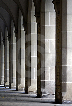 Repeating Columns Stock Photo - Image: 8356000