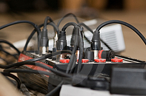 A Switchboard Is Computer Technologies. Royalty Free Stock Images - Image: 8356679