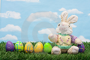 Easter Eggs Royalty Free Stock Images - Image: 8356899