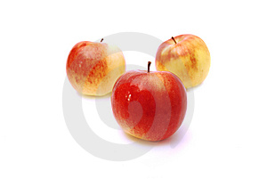 Three Apples Royalty Free Stock Photos - Image: 8357048