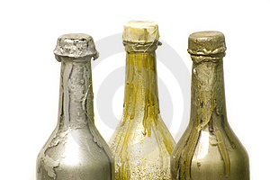 Bottles Of Paint Royalty Free Stock Image - Image: 8357496