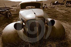 Deserted Car, Bodie Royalty Free Stock Images - Image: 8357979