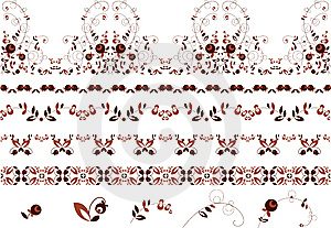 Berry_ornament Royalty Free Stock Image - Image: 8358326