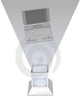 Futuristic Televsion Stock Image - Image: 8358341