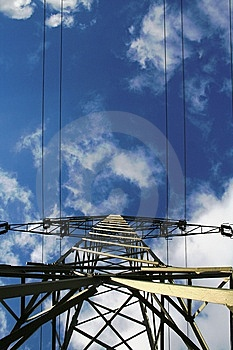 Electricity Pylon Royalty Free Stock Images - Image: 8358829