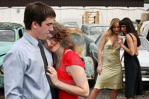 Love And Jealousy Stock Images - Image: 8359634