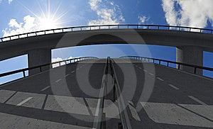 Empty Bridge Stock Image - Image: 8360181