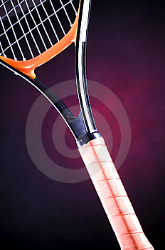 Tennis Racquet Stock Photos - Image: 8360463