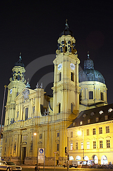 The Catholic Theatine Church St. Cajetan Stock Photography - Image: 8360562