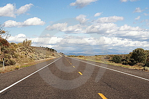 Road Through South Utah Stock Image - Image: 8362751