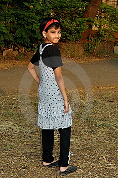 Rich Indian Girl Posing Stock Images - Image: 8363034