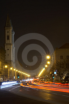 Ludwigskirche Royalty Free Stock Photos - Image: 8363068