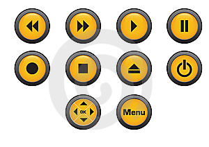 Button Royalty Free Stock Image - Image: 8363376