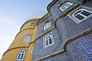 Pena Palace Stock Image - Image: 8363441