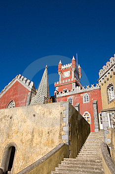 Pena Palace Royalty Free Stock Photography - Image: 8363447