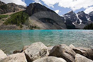 Lake Moraine Royalty Free Stock Images - Image: 8363449