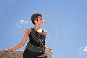 Beautiful Brunette Royalty Free Stock Photography - Image: 8363467