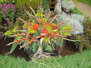 Rich Floral Dekoration Royalty Free Stock Photos - Image: 8364038