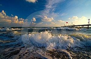 White Sea Royalty Free Stock Photos - Image: 8364228