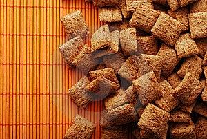 Sweeties Over Orange Mat Stock Photos - Image: 8364783