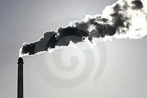 Chimney And Smoke Royalty Free Stock Images - Image: 8365489