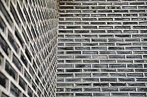 Ancient Gray Brick Wall Royalty Free Stock Photos - Image: 8365778