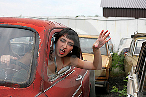 Get Out From My Way! Stock Photography - Image: 8365792