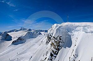 Snowy Mountains Stock Photo - Image: 8366300