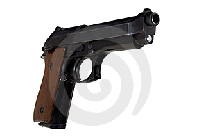 9mm Taurus Right Side Stock Photography - Image: 8366532