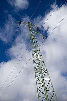 Electric Column Royalty Free Stock Images - Image: 8366609