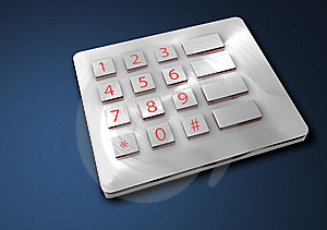 Metal Button Stock Photos - Image: 8366723