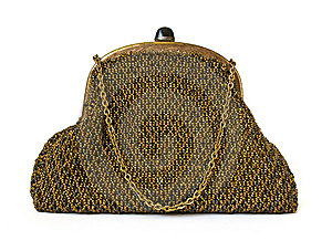 Theatre Handbag Stock Images - Image: 8366824
