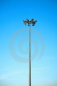 Street Lamppost Stock Image - Image: 8367301