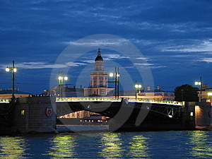 Saint Petersburg Bridge Stock Images - Image: 8368144