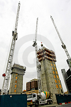 Concrete Construction Stock Image - Image: 8369061